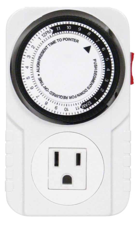 Apollo 6 - One Outlet Mechanical Timer