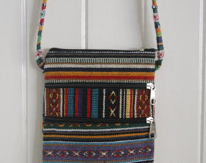 Nepalese coloured nepal hand bag