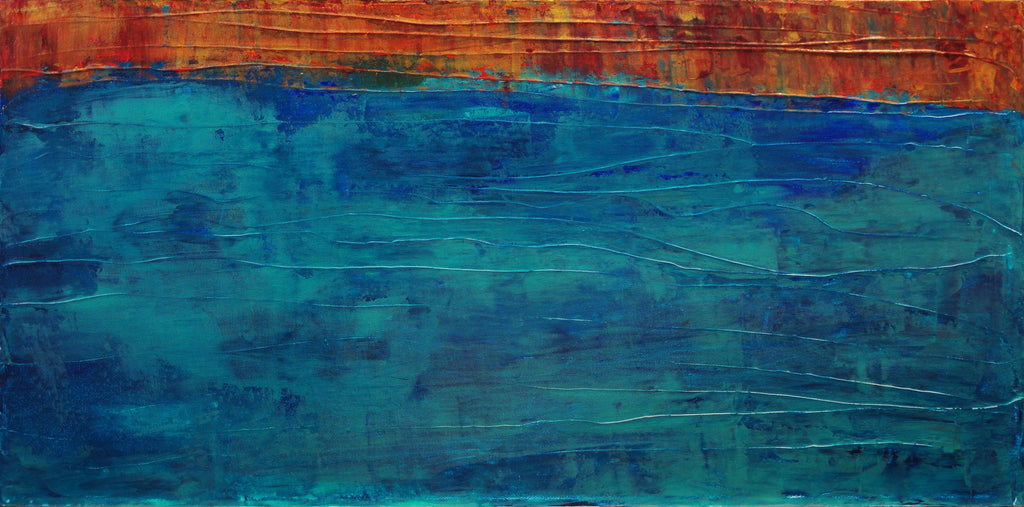 Painting: The Edge of the Deep Blue Sea