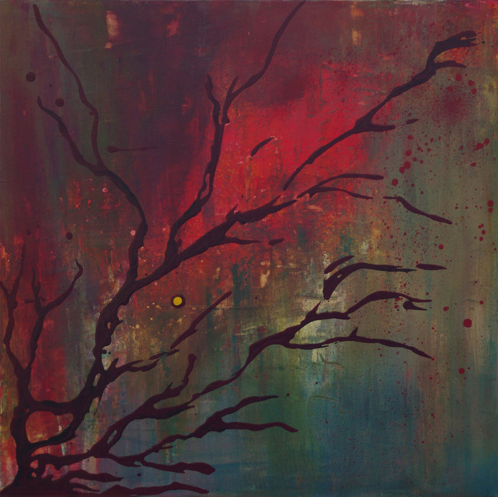 "The Mourning Tree - 20"" x 20"""