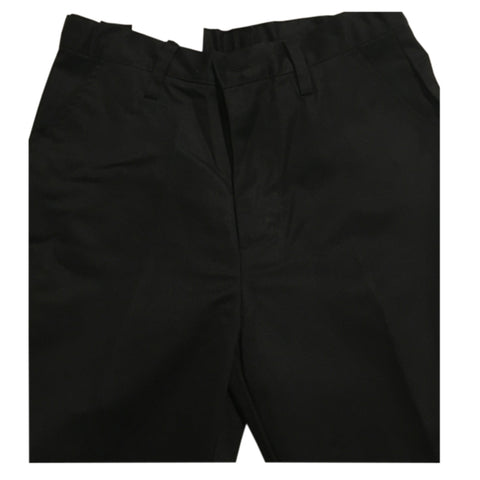 Boy's Pleated Pants in Black