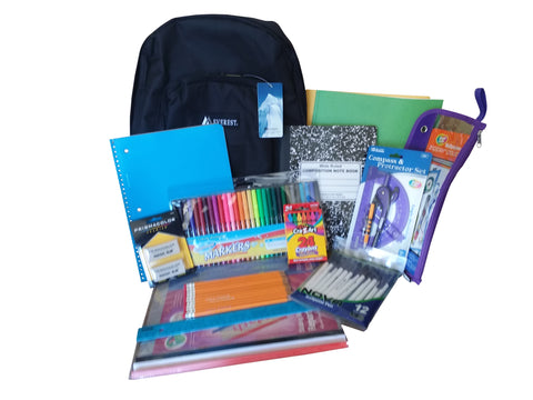 MEGA Backpack School Supply Kit
