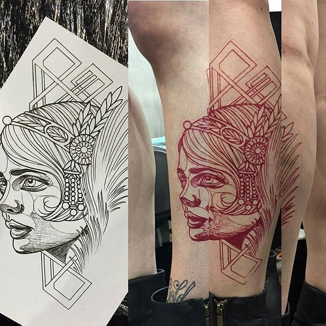 transfer paper for tattoos How do you use tattoo stencil transfer paper is there a way to use regular paper to transfer the image.