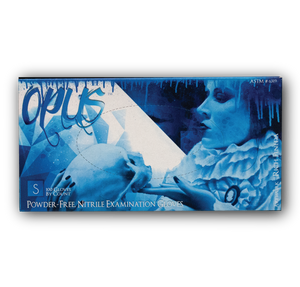 Opus Tattoo Nitrile Gloves, Case, Small