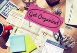 12 Steps to a New You: March: Get Organized