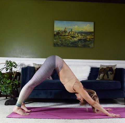 at home yoga routine