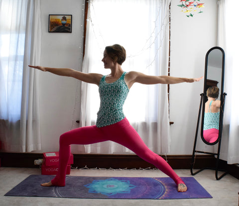 daily yoga practice at home