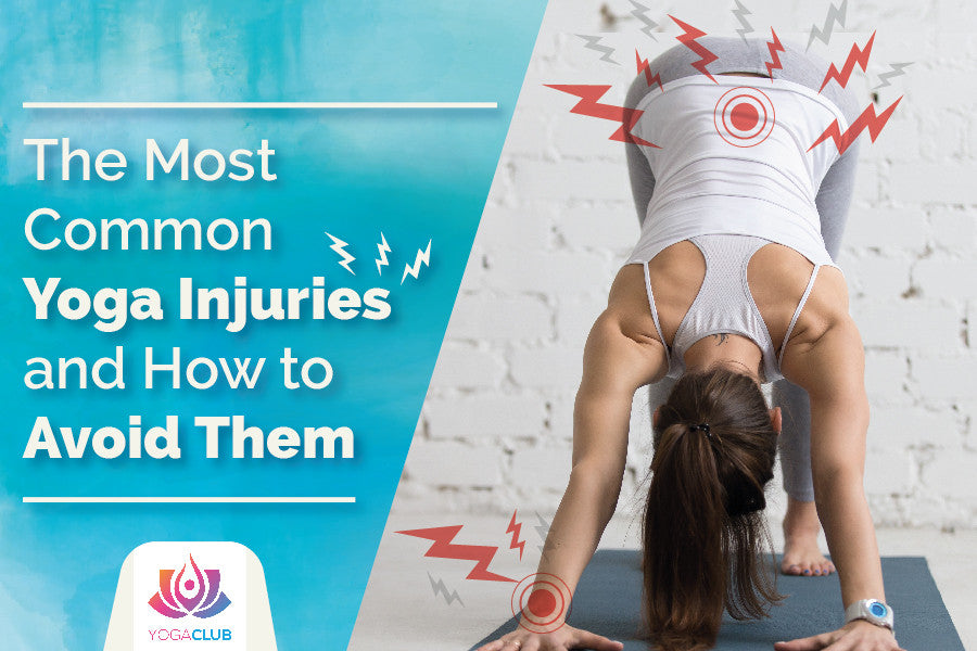 most common yoga injuries