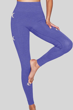 Solstice Seamless Leggings, Blue Iris