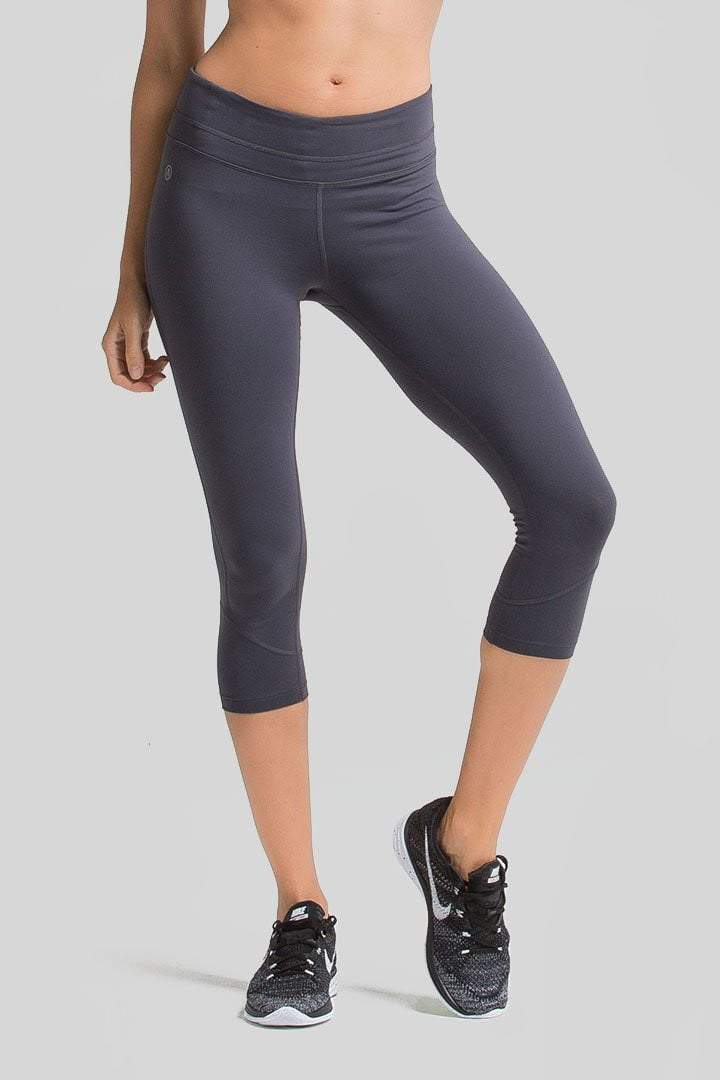 Chakra Capri, Indigo Blue - Bottoms - Amari Active