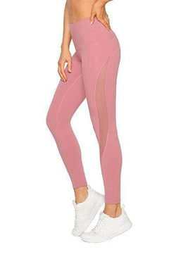 Lilly Core Full Length Tight, Powdered Pink - Bottoms - Lorna Jane