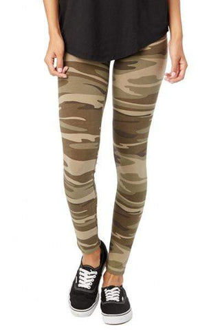 Khaki Camo Go-To Legging (Alternative)