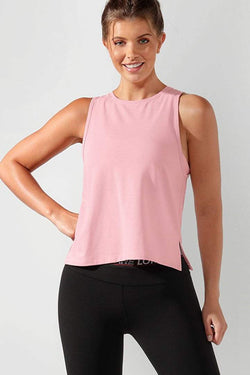 Cardio Active Tank, Dusty Rose