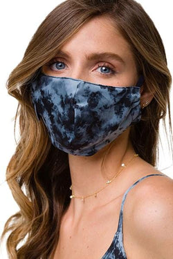 Mindful Mask, Black/Grey Tie Dye (Onzie)