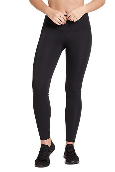Barefoot High Waisted Legging, Black (Niyama Sol)