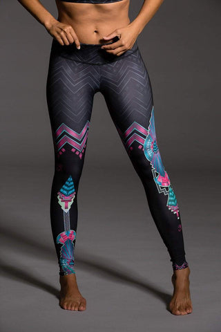 229 Graphic Legging Cairo (Onzie)