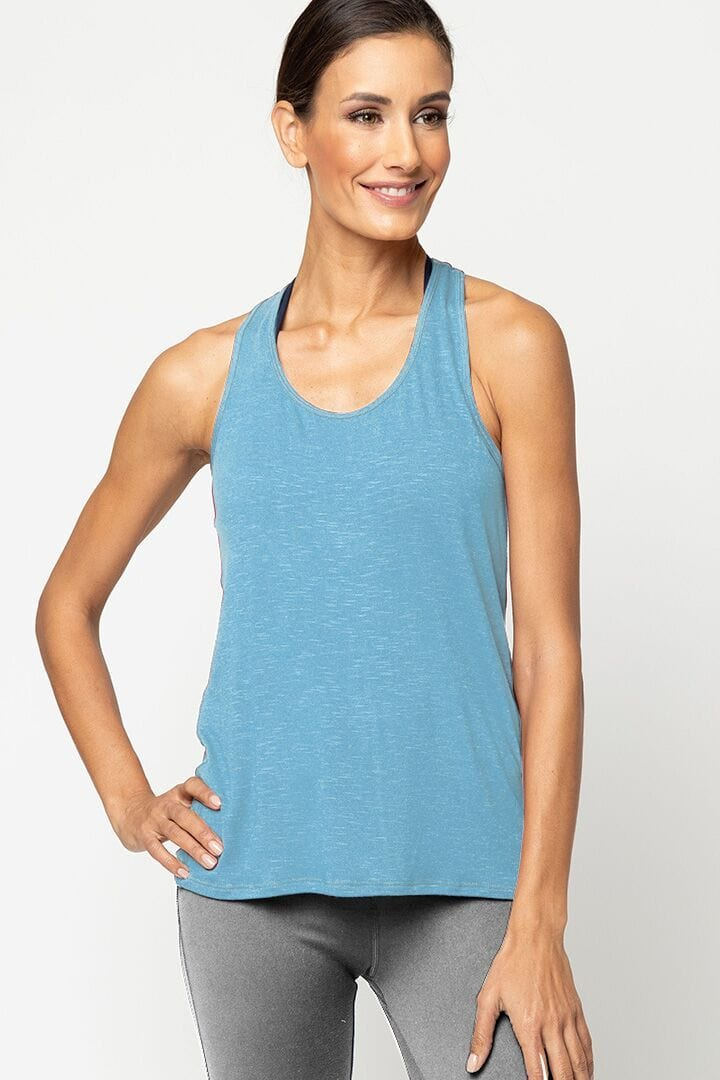 Meegs Racer Tank Eco True Turquoise (Alternative)