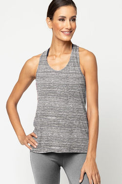 Meegs Racer Tank, Urban Grey by Alternative Apparel