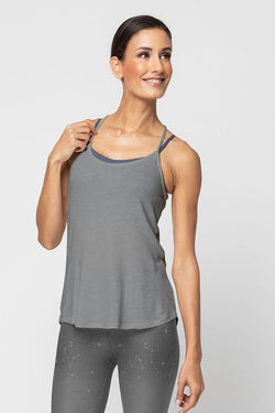 Strappy Tank, Heather Grey by Alternative