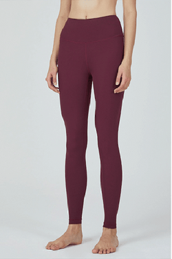 One Mile Leggings AIR STREAM 24.5, Burgundy (Mulawear)