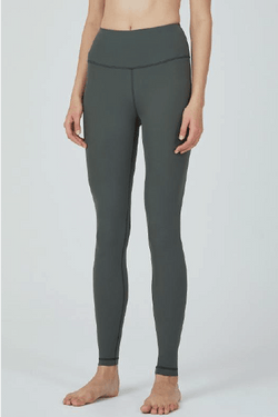 One Mile Leggings AIR STREAM 24.5, Khaki Black (Mulawear)