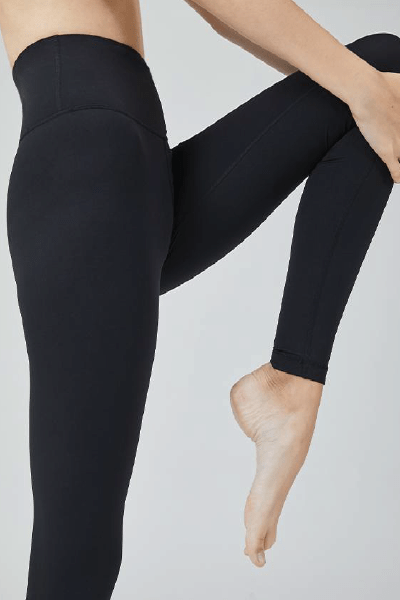 One Mile Leggings AIR STREAM 24.5, Black (Mulawear)