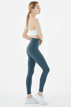 Up Down No Cut Leggings, Dark Green (Mulawear)