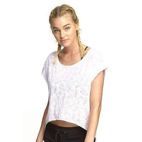 Caribbean Crop Top White (Colosseum)