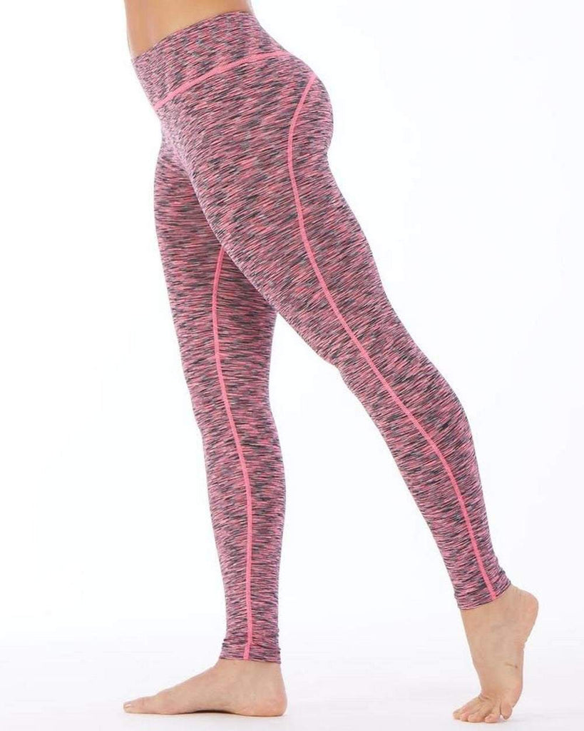 Compression Leggings Pink (Electric Yoga)