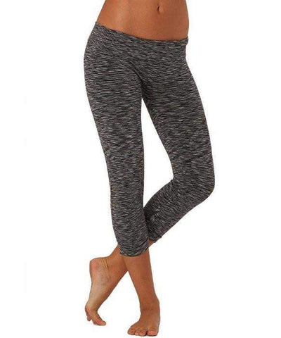 Compression Capri Black/Grey (Electric Yoga)