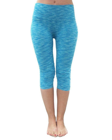 Compression Capri Turquoise (Electric Yoga)
