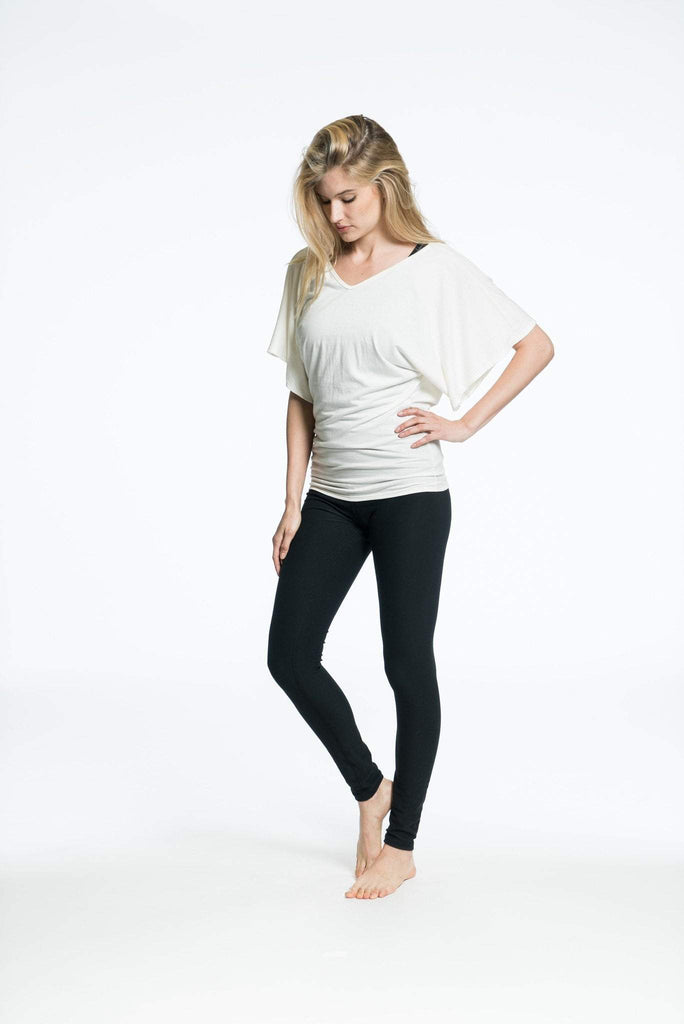 Catalina Tunic White Burnout (Elexxi)