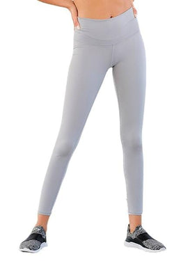Barefoot High Waisted Legging, Platinum (Niyama Sol)