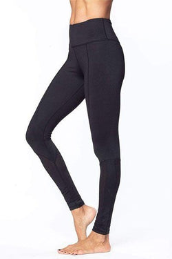 Dynamic Mesh 7/8 Legging, Black by Glyder