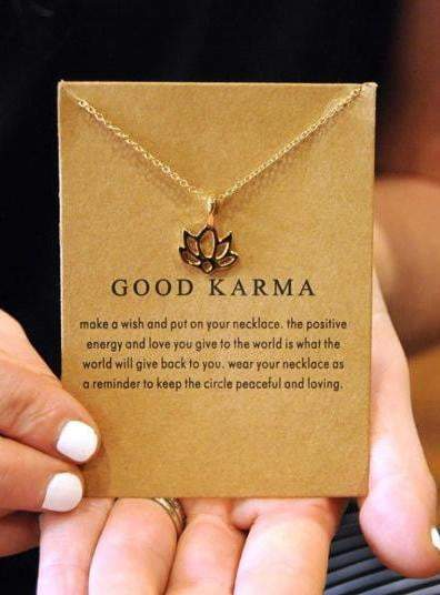 Good Karma Necklace (Yoga Club) - Accessory - YogaClub