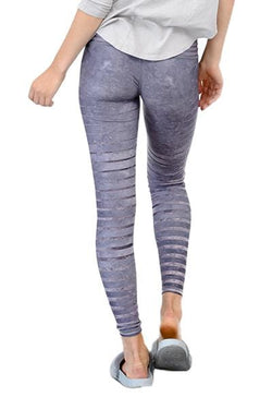Barefoot Leggings, Granite Stripe (Niyama Sol)