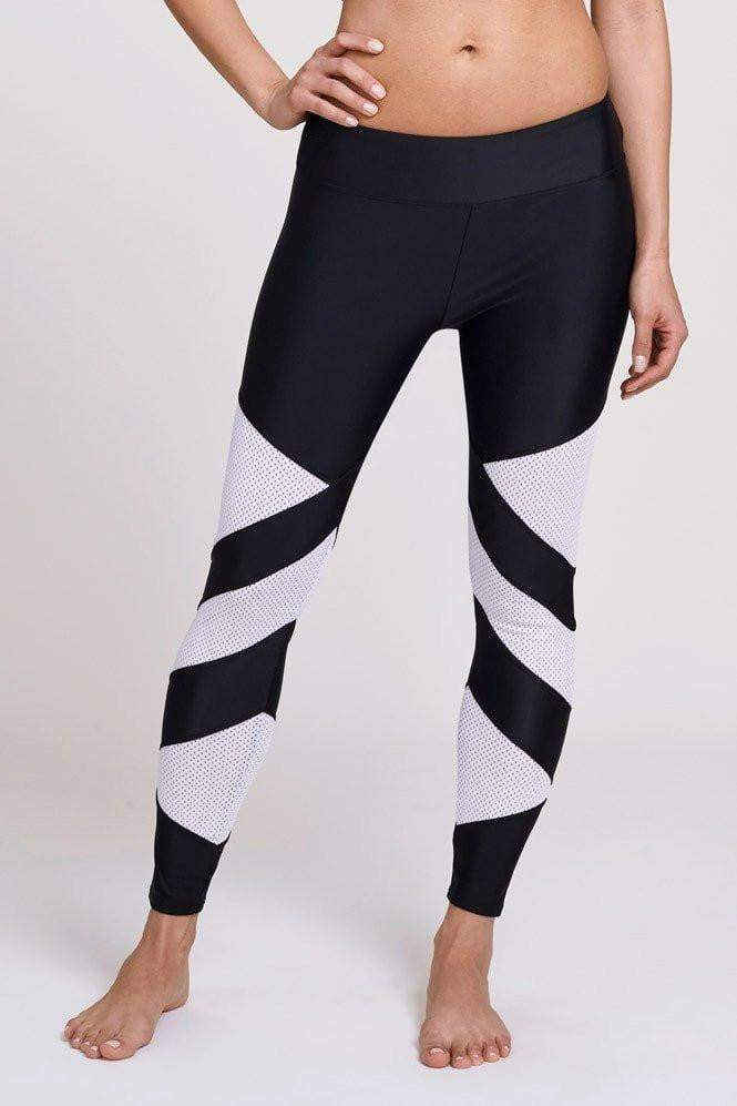 Power Leggings Black/White