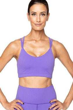 Lindsay Bra, Purple (Vie Active) - Bra Top - Vie Active