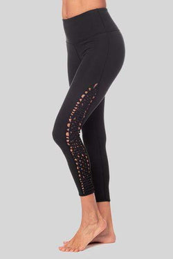 Lucy 7/8 Legging, Black