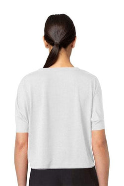 Bang Cropped Tee, Bright White by MPG