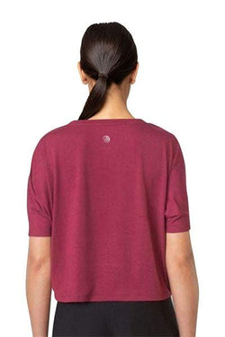 Bang Cropped Tee Team Maroon by MPG
