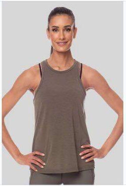 Marissa Tank, Army (Vie Active) - Tank Top - Vie Active