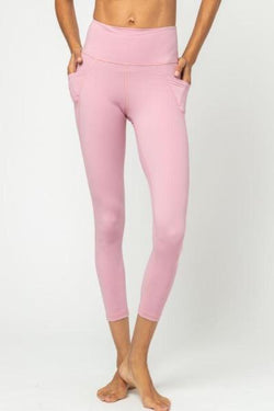 Lili Full Leggings, Mauve Orchid (Vie Active)