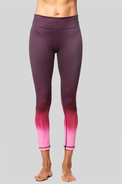 Rockell 7/8 Legging, Black Cherry Ombre by Vie Active