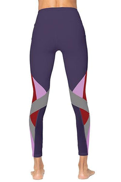 Lulu 7/8 Legging, Indigo and Purple (Vie Active)