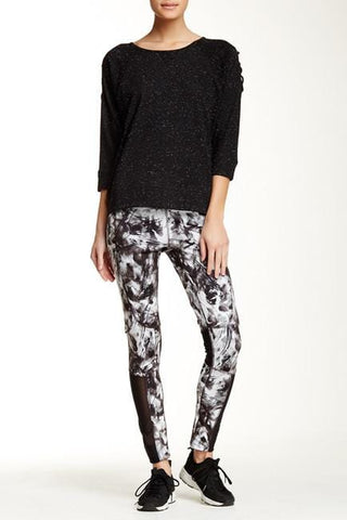 Smoke Print Tight Leggings (Steve Madden)