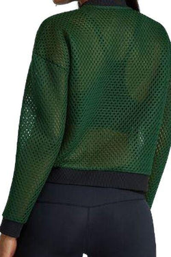 Star Mesh Top, Green by Noli