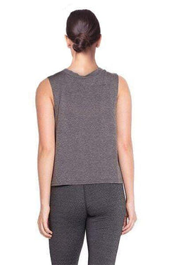 Basic Muscle Top, Grey by The Free Yoga