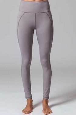 Lili Full Leggings, Cool Grey (Vie Active) - Full - Vie Active