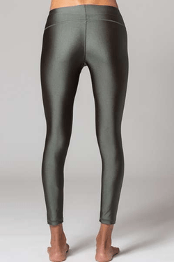 Rebecca Full Legging, Metallic Army (Whisper) - Full - Whisper